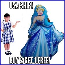 Gigantic Cinderella 3 Feet Tall Birthday Disney Princess Balloon Party