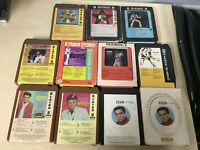 Elvis 8-Track Lot 11 8 Track Tapes