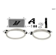 Mishimoto Silver Thermostatic Oil Cooler Kit for 15+ Subaru STI | MMOC-STI-15T