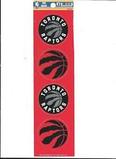 "TORONTO RAPTORS   ""THE QUAD"" 4 SMALL DIE-CUT NBA STICKERS"