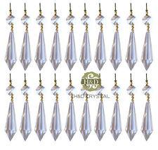 20PCS U-drop Prisma Kugel Glas Kristall für Pendelleuchte Kronleuchter licht 38#