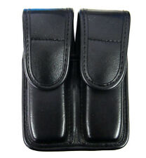 Bianchi AccuMold Elite Double Magazine Pouch with Top Flap Double Snap Closure