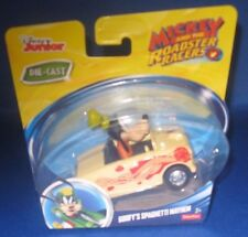 DISNEY JUNIOR DIE CAST MICKEY AND THE ROADSTER RACERS GOOFY'S SPAGHETTI MAYHEM
