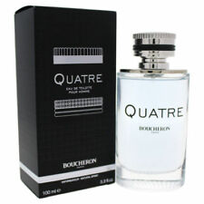 Boucheron Quatre Pour Homme Eau De Toilette 3.3 Oz 100 Ml For Men New in box