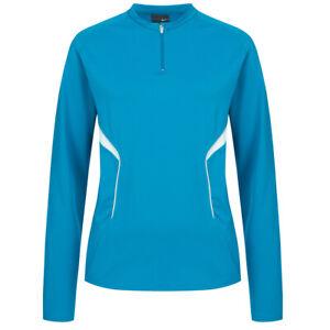 Nike 1/4 Zip Femmes Entrainement Sport Fitness Manches Longues Haut 211538-420
