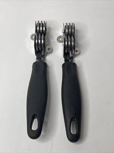 Knife Sharpener BOJ with Ergonomic Handle and Wheel Sharpening System