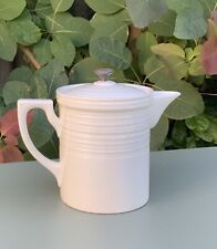 More details for vintage 1930's melior ceramic cafetiere coffee pot - booths tunstall - half pint