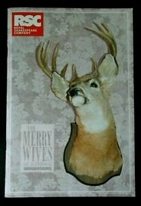 Merry Wives Of Windsor programme 2012 RSC Royal Shakespeare Theatre Anita Dobson