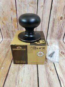 Half Non Turning Dummy Door Knob - Cambridge Oil Rubbed Bronze Doorknob