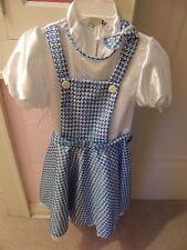 Wizard of Oz Sequined Dorothy Costume   Girls Medium