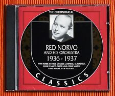 RED NORVO 1936 - 1937   CD   The Classics Chronological Series 1123   SEALED