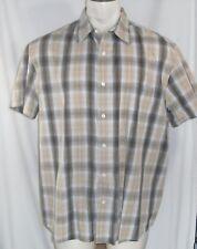 SONOMA Men's Short Sleeve Dress Shirt - Men's XL