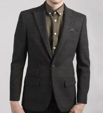 be9a01eb00b0 Harry Brown Charcoal Check Wool Tailored Blazer (40R).. sample 2771
