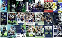 SEATTLE SEAHAWKS LOT OF 425 DIFF FB CARDS W / STARS, VINTAGE, ROOKIES.