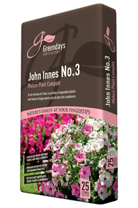 Evergreen Greendays John Innes No 3 Compost 25 Ltr - 1 x 25 Ltr Bag