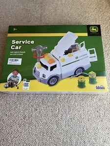 Theo Klein 3911 John Deere Service Car Toy Car Set NEW.