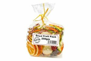Beautiful 250gm bag of dried fruits and chillis Christmas xmas decorations craft