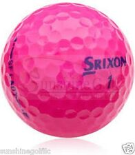 24 AAA Srixon Soft Feel Lady PASSION PINK Used Golf Balls (3A)  FREE SHIPPING