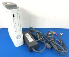 New listing Microsoft Xbox 360 White Console with All Cables Fast Shipping