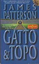 Libro - James Patterson - Gatto e Topo - Cop. morbida - SuperPocket   usato