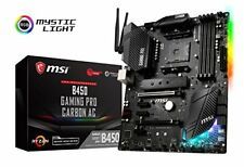 MSI B450 GAMING PRO CARBON AC Desktop Motherboard - AMD (b450gamingprocarbonac)