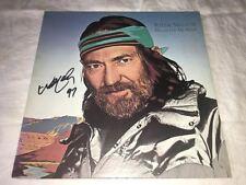 Willie Nelson SIGNED Always On My Mind LP Album Vinyl The Highwaymen PROOF