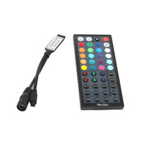 Mini 44Key IR Remote Controller Receiver For RGB 3528 5050 LED Strip Light UK