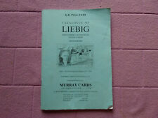 PUBLICATIONS - LIEBIG CATALOGUE 10TH EDITION ( MURRAYS )