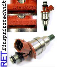Einspritzdüse DENSO 195500-2120 Mazda 323 Daihatsu Charade gereinigt & geprüft