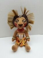 "Disney The Lion King Broadway Musical Simba 8"" Stuffed Costume Doll Plush Toy"