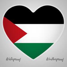Palestine,Flag,Sticker,Decal,Heart,Car,Ipad,Laptop,Van,Bumper