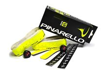 Pinarello Nastro Dry 1.8mm Race Handlebar Tape with End Plugs Yellow Fluo