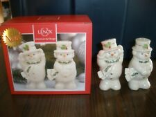 """New Lenox Happy Holly Days Salt And Pepper Set 4"""""""