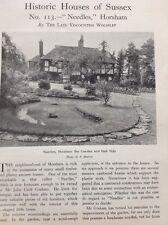 62-4 Ephemera 1937 Article The Needles Horsham