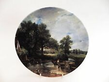Royal Doulton Collector Plate il fieno Wain 1st emissione in serie Constable Paese