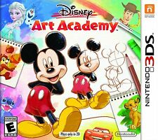 NEW Disney Art Academy (Nintendo 3DS, 2016)