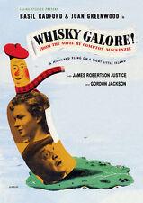 WHISKY GALORE (Basil Radford) - DVD - Region Free - Sealed