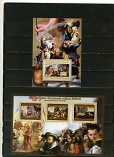 GUINEA 2012 ITALIAN PAINTER/TIEPOLO SHEET OF 3 STAMPS & S/S MNH