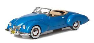 NEW!  Esval 1948 Kurtis Omohundro roadster Blue 1/43 Resin Model