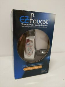 EZ Faucet PRO Automatic Sensor Faucet Adapter for Brm or Kitch Sink. Open Box