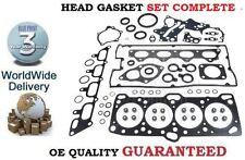 FOR MITSUBISHI LANCER EVO 1 2 3 2.0 TURBO 4G63 1992-12/1995 NEW HEAD GASKET SET
