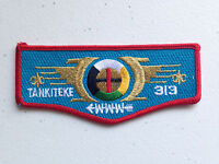 TANKITEKE OA LODGE 313 SCOUT PATCH CONNECTICUT YANKEE SERVICE FLAP TOUGH