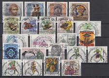 BERLIN - Jahrgang 1984 kpl. (= Nr. 708-729), ESST Berlin, zentrische Vollstempel