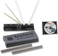 Spyderco 204mf triangle sharpmaker. Kit with dvd.
