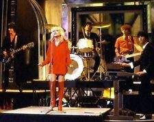 Blondie Debbie Harry Live Red Outfit 10x8 Photo
