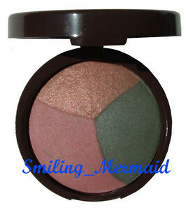 Laura Geller BAKED Green EyePie EyeShadow Trio APPLE PEACH PIE Brown Peach Green
