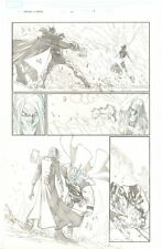 Avengers: Initiative #22 p.17 Mad Clone of Thor Action '08 art by Humberto Ramos