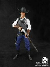 "MOMTOYS 1/6 Scale Model Cowboy Weapon Costume Clother Coat F 12"" Action Figures"