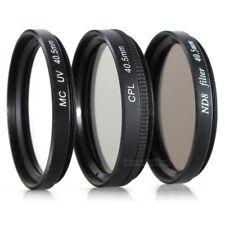 L /& ND 4 Filtro /& Filtro CPL polarizzatore einschraubanschluss 58mm filtro UV Green