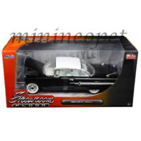 JADA 98901 SHOWROOM FLOOR 1960 CHEVROLET IMPALA 1/24 DIECAST MODEL CAR BLACK
